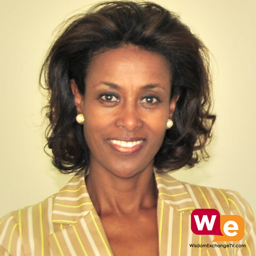 Meaza Ashenafi guest on wisdom exchange tv