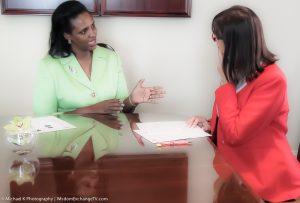 Susan Muhwezi with Suzanne F. Stevens