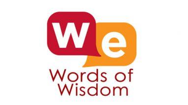 words of wisdom wisdom exchange tv