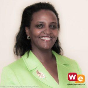 Susan Muhwezi guest on wisdom exchange tv