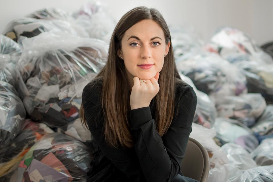 The Fashion Industry Has A Huge Waste Problem. Meet The Entrepreneur Who's Fixing It.