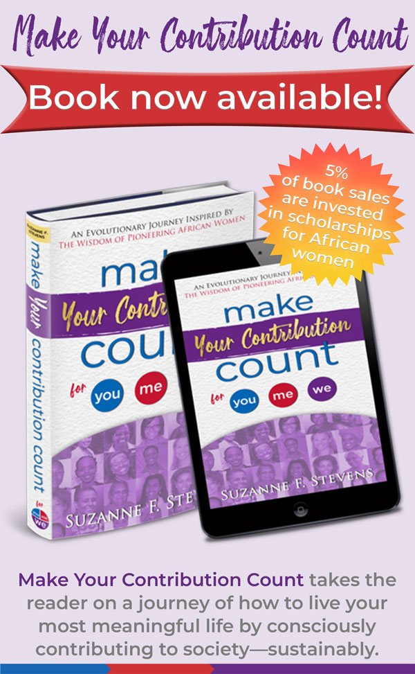 make your contribution count book available
