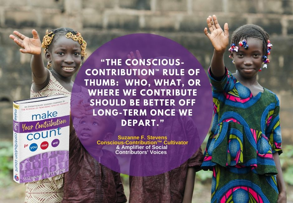 Click to learn about Make Your Contribution Count and spread the movement.