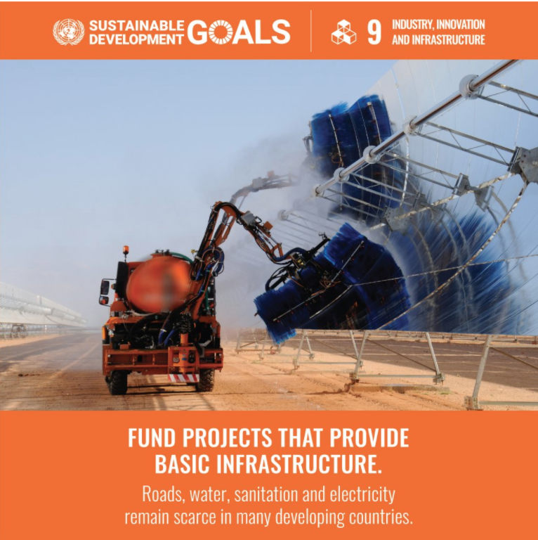 SDG - 9 Industry Innovation and Infrastructure