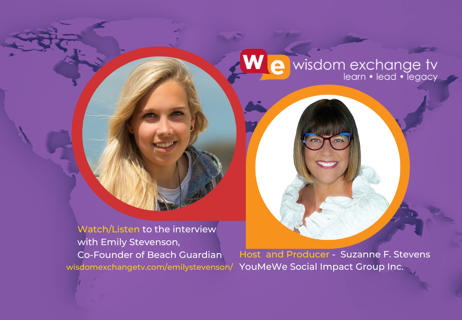 Click to hear the interview with Emily Stevenson, co-founder Guardian Beach, UK, nonprofit