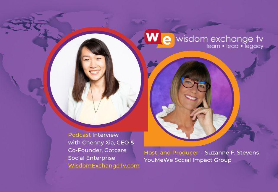 Chenny Xia, CEO and Co-Founder, Gotcare social enterprise